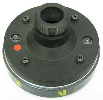 Compression Driver with Phenolic Dome