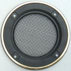 Speaker Grill with Gold Ringed Flat Edge
